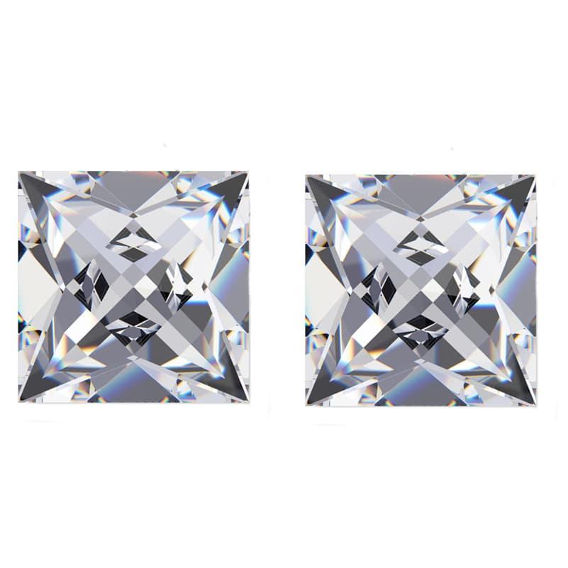 french cut diamond pairs, French Cut Diamond Matching Pairs & Side Stones