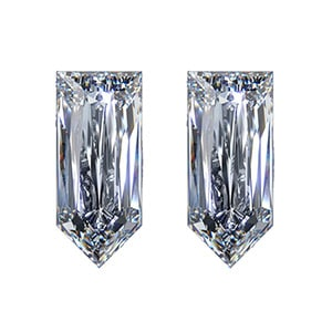 calf cut diamond, Matching Calf Cut Diamond Pairs